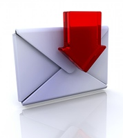 Download mail icon