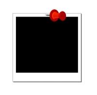 polaroid schwarz