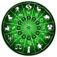 Grune Horoskopscheibe