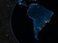 Night in South America