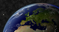 Europe from space