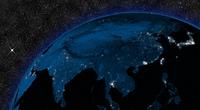 Night in East Asia