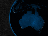 Night in Australia