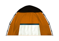 Camping Tent on White