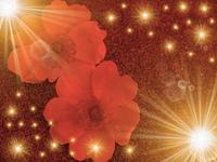 art abstract flower