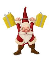 Santa Claus strong