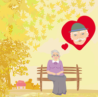 the old lady thinks about the man she loves