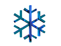 Symbol fur Eisglatte freigestellt