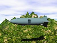 Luftschiff am Himmel