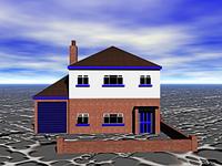 Einfamilienhaus im Neubaugebiet