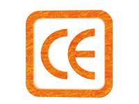 Symbol fur CE Sicherheitszeihen freigestellt