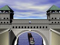 Stadtmauer mit Schiffstor