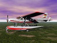 Propellerflugzeug Cessna