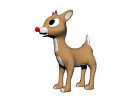 Rentier Rudolph freigestellt