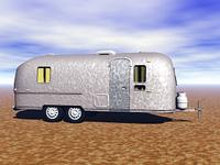Wohnwagen aus Wellblech