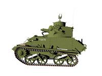 Panzerwagen im Gelande freigestellt