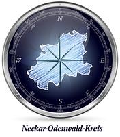 Map of Neckar-Odenwald-Kreis