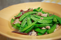 Green beans Puff with beef