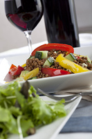 Lentil Salad with Wine
