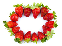 Strawberries frame