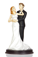 Wedding cake dolls