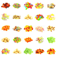 Repeating Candy Background