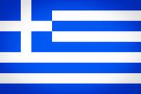 Greece flag vignetted