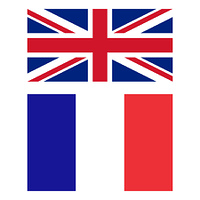 Flag of United Kingdom and France
