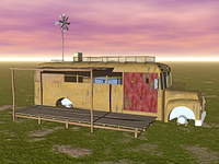 alter Campingbus