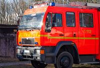 Feuerwehr Loschfahrzeug