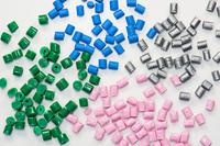 verschiedene Kunststoffgranulate