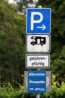 Wohnmobil-Stellplatz
