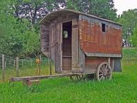 Alter Wohnwagen