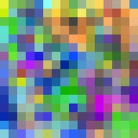 Large colorful pixels background.