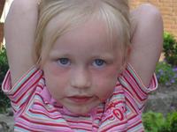 girl with blue eyes II