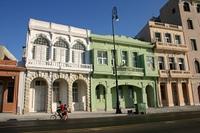 Hauserfront am Malecon, Havanna