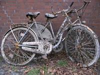 Alte Fahrrader