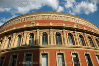 the royal albert hall arts theatre and known for holding the proms each year