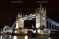 Tower Bridge at night time