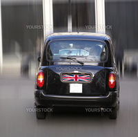 A picture of Black Cab London taxi car