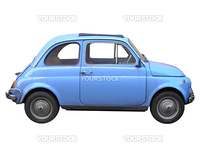 A picture of Fiat 500 sixties Italian car