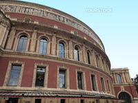 Royal Albert Hall concert room in London UK