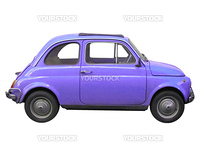Fiat 500 sixties Italian car