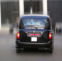 Black Cab London taxi car