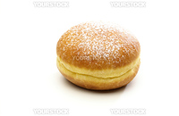 krapfen on white