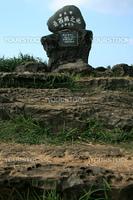 Stone Sign - Yonaguni Island, Okinawa, Japan