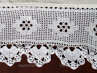crochet lace. Traditional design. (I'm creator)