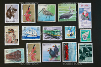 Japanese Collectibles Vintage Stamps rare collection series
