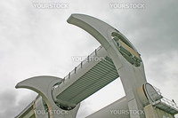 Falkirk Wheel in Scotland UK
