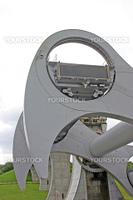 Falkirk Wheel in Scotland UK